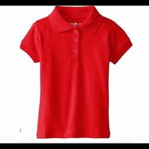 New Eddie Bauer 2T Child's Shirt Engine Red